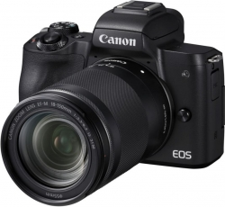 Фотоаппарат Canon EOS M50 черный 24.1Mpix 3 4K WiFi 18-150 IS STM LP-E12