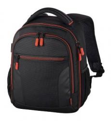 Рюкзак для зеркальной фотокамеры Hama Miami 150 черный/красный