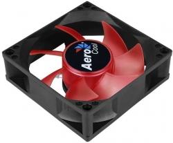 Вентилятор Aerocool Motion 8 Red-3P 80x80x25mm 3-pin 27dB 90gr LED Ret