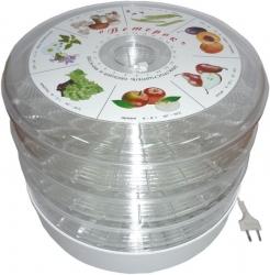 Сушка для фруктов и овощей Спектр-Прибор СО Ветерок-3г 3под. прозрачный