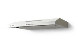 Вытяжка козырьковая Lex S 500 белый управление: кнопочное (1 мотор)
