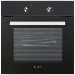 Духовой шкаф Электрический Lex EDM 040 BL черный