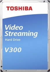 Жесткий диск Toshiba SATA-III 1Tb HDWU110UZSVA Video Streaming V300 (5700rpm) 64Mb 3.5