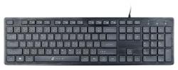 Клавиатура Oklick 500M черный USB slim Multimedia