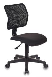Кресло Бюрократ CH-295/15-21 спинка сетка черный сиденье черный 15-21