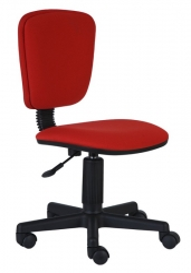 Кресло Бюрократ CH-204NX/26-22 красный 26-22