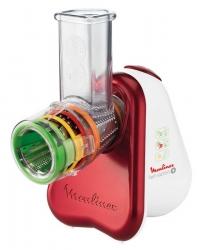 Измельчитель электрический Moulinex DJ755G32 150Вт белый/красный