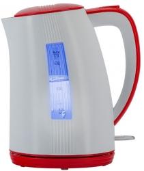 Чайник электрический Polaris PWK 1790СL 1.7л. 2200Вт белый/красный (корпус: пластик)