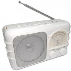 Радиоприемник портативный Сигнал Luxele РП-111 белый