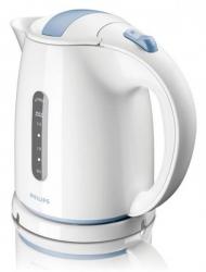 Чайник электрический Philips HD4646/70 1.5л. 2400Вт белый/голубой (корпус: пластик)