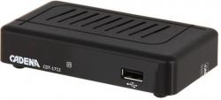 Ресивер DVB-T2 Cadena CDT-1712 черный
