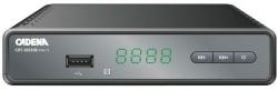 Ресивер DVB-T2 Cadena CDT-1651SB черный