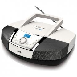 Аудиомагнитола BBK BX519BT белый/черны