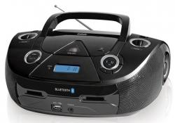 Аудиомагнитола BBK BX318BT черный