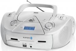 Аудиомагнитола BBK BX318BT серебристый