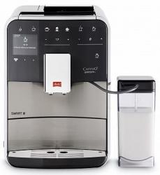 Кофемашина Melitta Caffeo F 840-100 1450Вт серебристый/черный