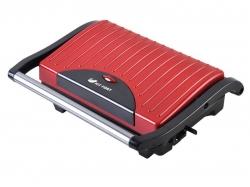 Сэндвичница Kitfort KT-1609 Panini Maker 640Вт красный/черный