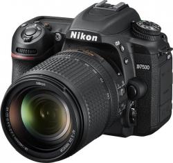 Зеркальный Фотоаппарат Nikon D7500 черный 20.9Mpix 18-140mm f/3.5-5.6G VR 3.15 4K 4K SDXC Li-ion