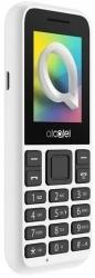 Мобильный телефон Alcatel 1066D белый моноблок 2Sim 1.8 128x160 Thread-X 0.08Mpix GSM900/1800 GSM1900 MP3 FM microSD max32Gb