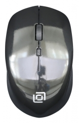 Мышь Oklick 565MW glossy черный оптическая (1000dpi) беспроводная USB (3but)