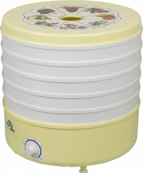 Сушка для фруктов и овощей Ротор СШ-007 (07-06, 007-06) 5под. 520Вт белый