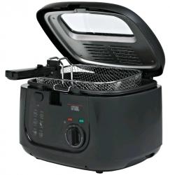 Фритюрница GFGril GFF-05 Compact 1800Вт черный