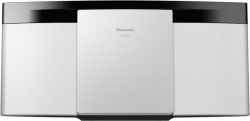 Микросистема Panasonic SC-HC200EE-W белый 20Вт/CD/CDRW/FM/USB/BT