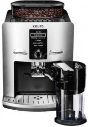 Кофемашина Krups EA829E10 серебристый/черный
