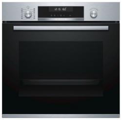Духовой шкаф Электрический Bosch HBG578BS0R нержавеющая сталь/черный