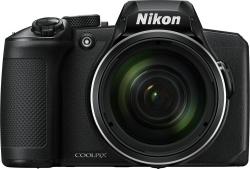 Фотоаппарат Nikon CoolPix B600 черный 16Mpix Zoom40x 3 1080p SDXC/SD/SDHC CMOS 1x2.3 1minF turLCD VF HDMI/WiFi