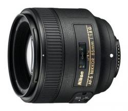 Объектив Nikon AF-S (JAA341DA) 85мм f/1.8