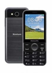 Мобильный телефон Philips E580 Xenium 64Mb черный моноблок 2Sim 2.8 240x320 2Mpix GSM900/1800 GSM1900 MP3 FM microSD max32Gb
