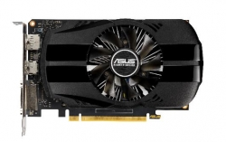 Видеокарта Asus PCI-E PH-GTX1650-4G nVidia GeForce GTX 1650 4096Mb 128bit GDDR5 1485/8002 DVIx1/HDMIx1/DPx1/HDCP Ret