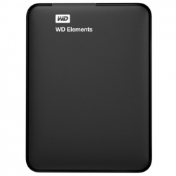 Жесткий диск WD Original USB 3.0 1Tb WDBMTM0010BBK-EEUE Elements Portable 2.5  черный
