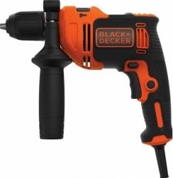 Дрель ударная Black & Decker BEH710-QS 710Вт патрон:быстрозажимной реверс