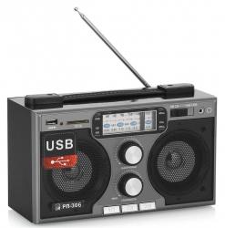 Радиоприемник портативный Сигнал БЗРП РП-306 черный USB SD