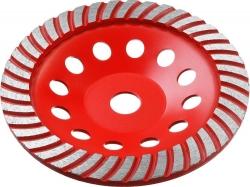 Чашка по бетону Зубр 33375-180 d=180мм d(посад.)=22.2мм (угловые шлифмашины)