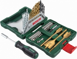 Набор бит и сверл Bosch X-line 40 (2607017334) (40пред.) для шуруповертов/дрелей