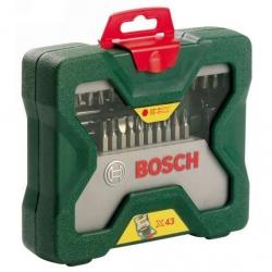 Набор бит и сверл Bosch X-line 43 (2607019613) (43пред.) для шуруповертов/дрелей