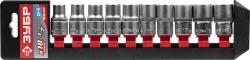 Набор головок Зубр 27653-H10 10 предметов