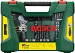 Набор принадлежностей Bosch V-line 83 предмета (жесткий кейс)