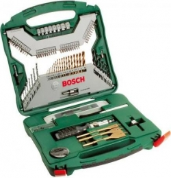 Набор принадлежностей Bosch X-Line-50 50 предметов (жесткий кейс)