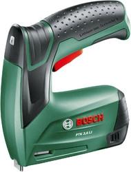 Степлер аккумуляторный Bosch PTK 3.6 LI скобы тип 53: 11.4мм 4-10мм