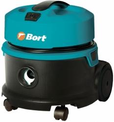 Строительный пылесос Bort BSS-1010HD 1000Вт (уборка: сухая) синий