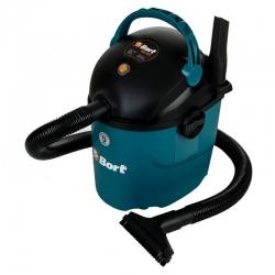 Строительный пылесос Bort BSS-1010 1000Вт (уборка: сухая/влажная) синий