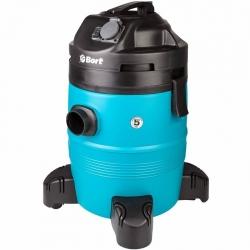 Строительный пылесос Bort BSS-1335-Pro 1400Вт (уборка: сухая/влажная) синий