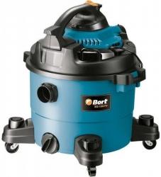 Строительный пылесос Bort BSS-1330-Pro 1300Вт (уборка: сухая/влажная) синий
