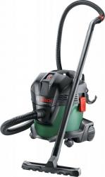 Строительный пылесос Bosch UniversalVac15 1000Вт зеленый