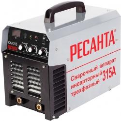 Сварочный аппарат Ресанта САИ-315-3ф инвертор ММА DC 9.5кВт