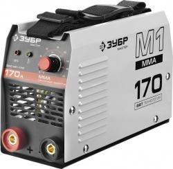 Сварочный аппарат Зубр ЗАС-М1-170 инвертор ММА DC 5.7кВт